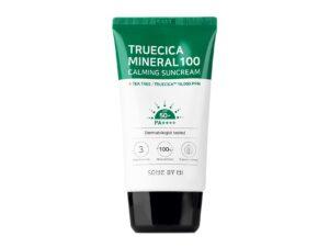 Uspokaivayushhij solntsezashhitnyj krem SOME BY MI TrueCica Mineral 100 Calming Sun Cream SPF50 PA 2