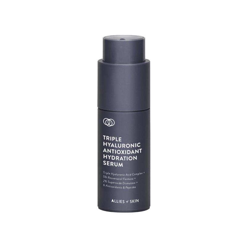 Зволожуючий серум Allies Of Skin Triple Hyaluronic Antioxidant Hydration Serum