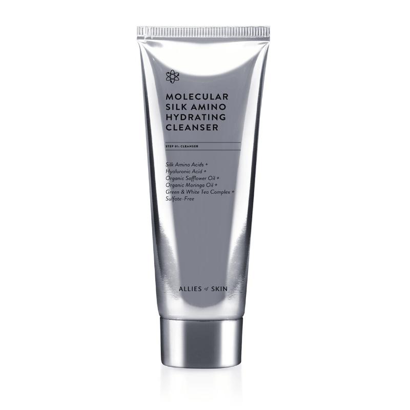 Очищуючий засіб Allies Of Skin Molecular Silk Amino Hydrating Cleanser
