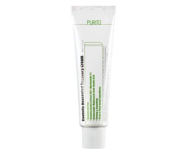 Увлажняющий крем для чувствительной кожи Purito Centella Unscented Recovery Cream