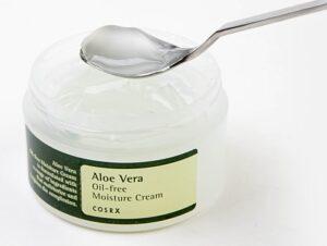 Uvlazhnyayushhij krem s aloe bez masel COSRX Aloe Vera Oil free Moisture Cream 2