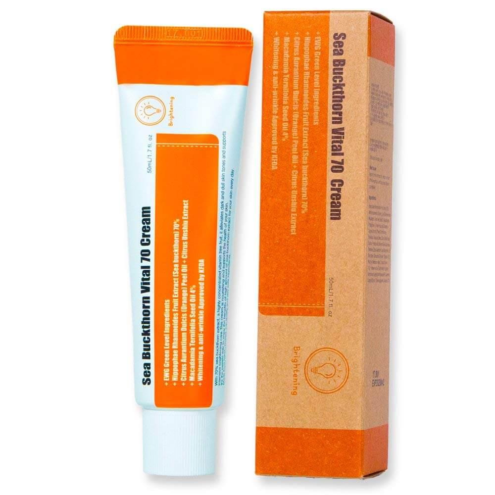 Витаминный крем для лица Purito Sea Buckthorn Vital 70 Cream