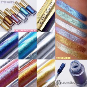 ZHidkie teni BH Cosmetics Eyelights Waterproof Eye Toppers 2