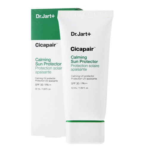 Заспокійливий сонцезахисний крем Dr.Jart+ Cicapair Calming Sun Protector SPF 30