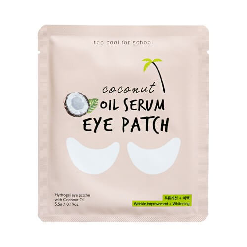 Гидрогелевые патчи Too Cool for School Coconut Oil Serum Eye Patch