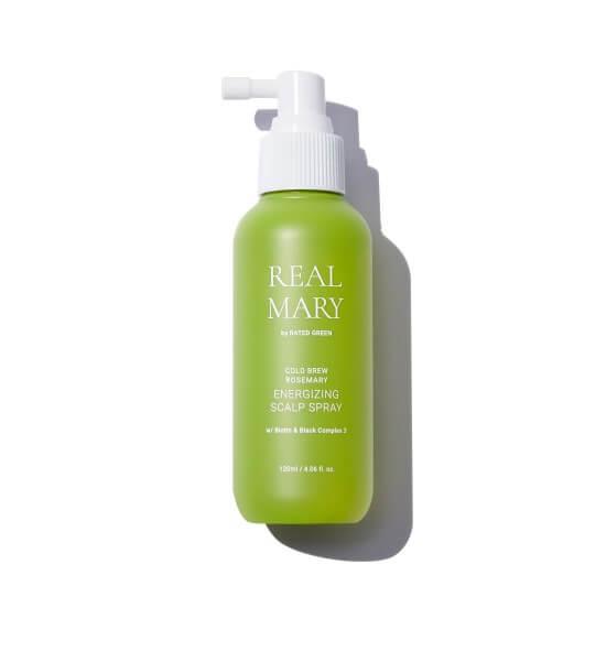 Спрей для кожи головы с соком розмарина Rated Green Real Mary Energizing Scalp Spray
