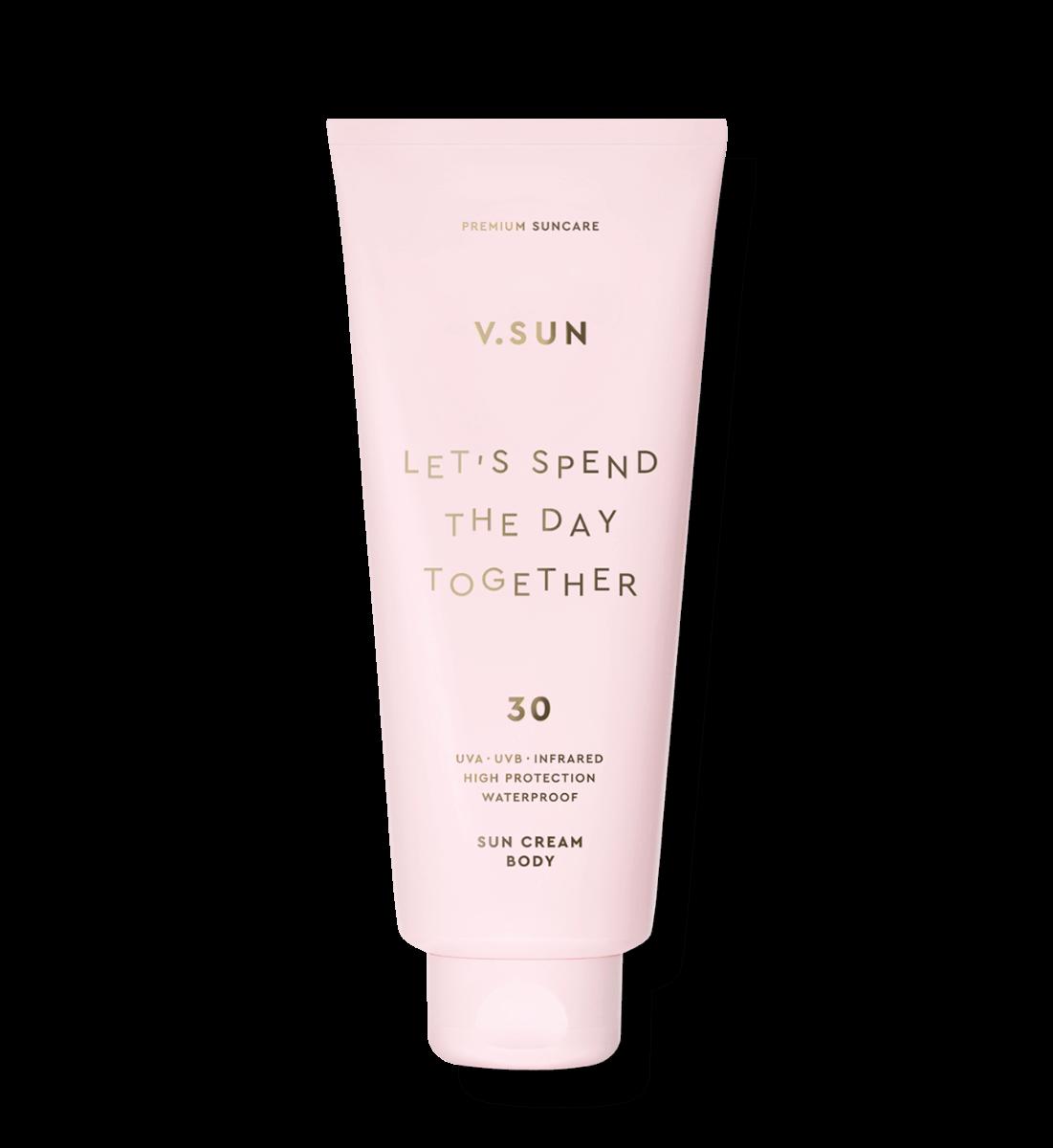 Солнцезащитный крем для тела V.SUN Sun Cream Body SPF 30