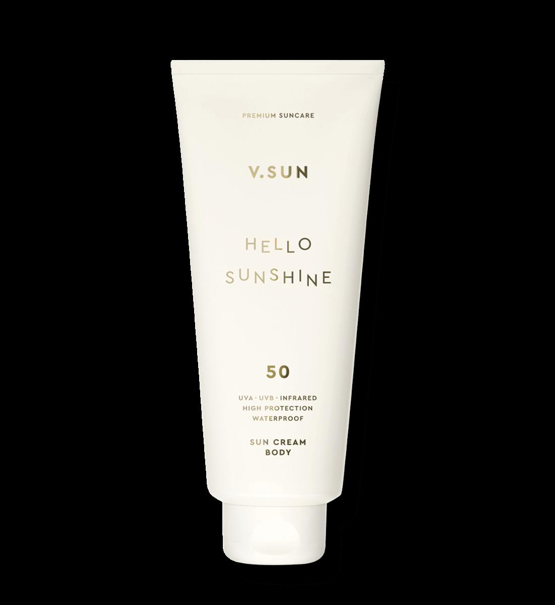 Сонцезахисний крем для тіла  V.SUN Sun Cream Body SPF 50