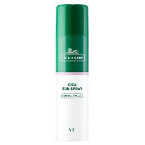 Солнцезащитный спрей для чувствительной кожи VT Cosmetic Cica Sun Spray SPF 50 купить в Киеве Украина   All Face