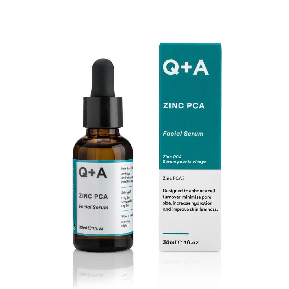 Сыворотка для лица с цинком Q+A Zinc PCA